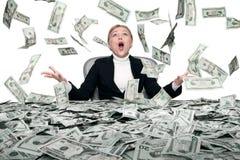 Money rain Stock Images