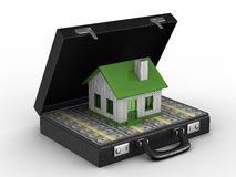 Money for real estate Stock Images