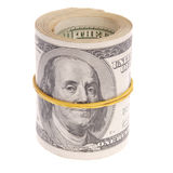 Money rol Royalty Free Stock Photo