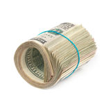Money roll Stock Photo