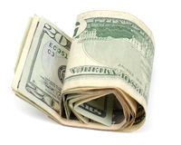 Money rolled Stock Images