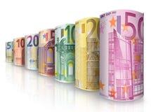 Money row Stock Photography