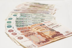 Money rubles Royalty Free Stock Photography