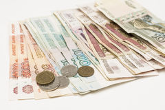 Money rubles Royalty Free Stock Image