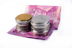 Money. Rupiah paper and coin money stock photos