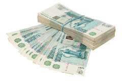 Money of Russia Stock Images