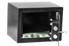 Money in Safe Stock Photography