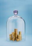 Money safety Royalty Free Stock Image