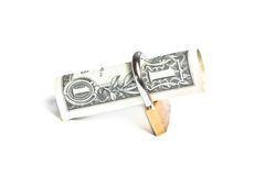 Money for safety and investment Stock Images