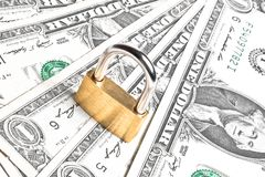 Money for safety and investment Royalty Free Stock Photos
