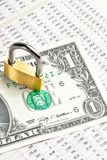 Money for safety and investment Royalty Free Stock Photography