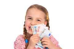 Money safing Royalty Free Stock Image