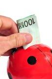 Money saving royalty free stock photography
