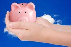 Money saving concept. Royalty Free Stock Image