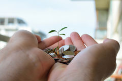 Money saving concept Royalty Free Stock Images