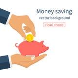 Money saving concept. Royalty Free Stock Photos