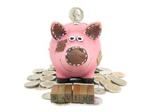 Money saving concept Royalty Free Stock Photography
