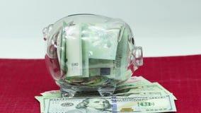 Money saving stock footage