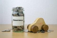 Money saving for Insurance Stock Photos