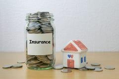 Money saving for Insurance Royalty Free Stock Photos