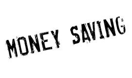 Money Saving rubber stamp. Grunge design with dust scratches. Effects can be easily removed for a clean, crisp look. Color is easily changed Royalty Free Stock Photo