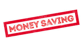 Money Saving rubber stamp Royalty Free Stock Photography