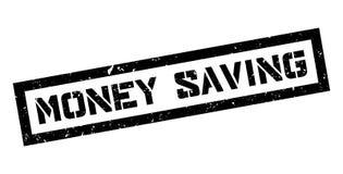 Money Saving rubber stamp Stock Photos