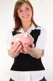 Money and savings. During recession Stock Photos