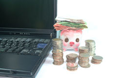 Money. Savings, the collection is the first of a business Royalty Free Stock Photography