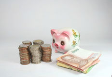 Money. Savings, the collection is the first of a business Royalty Free Stock Image