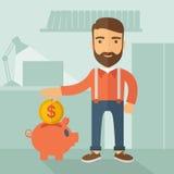 Money savings Concept Royalty Free Stock Image