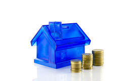 Money savings for the house Stock Image