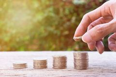 Free Money Savings, Investment, Making Money For Future, Financial Wealth Management Concept Stock Photos - 138968883