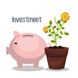 Money savings and investments Royalty Free Stock Image