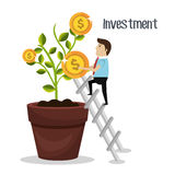 Money savings and investments Royalty Free Stock Photography