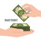 Money savings and investments Stock Photo