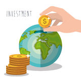 Money savings and investments Stock Photography
