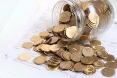 Money savings Royalty Free Stock Photography