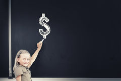 Money science Royalty Free Stock Images