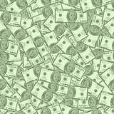 Money seamless  background Royalty Free Stock Photos