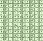 Money seamless  background. Dollars money seamless  background texture Royalty Free Stock Photos