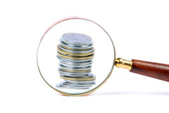 Money search Stock Image