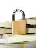 Money security Royalty Free Stock Photo