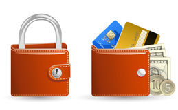 Money security concept Royalty Free Stock Photo