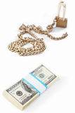 Money and security concept Stock Image