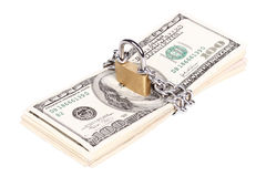 Money security concept Stock Image