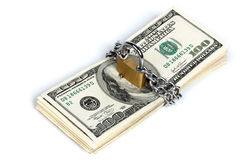 Money security concept Stock Images