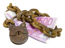 Money security concept Royalty Free Stock Photography