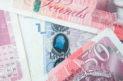 Money security elements Royalty Free Stock Photo