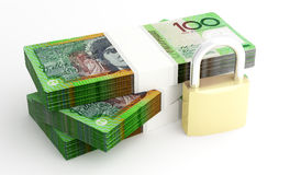 Money and security Stock Image